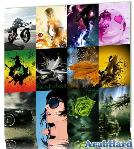 خلفيات موبايل جديدة وجامدة 2012، خلفيات موبايل جميلة Creative Wallpapers